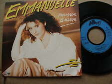 EMMANUELLE<1986>PREMIER BAISER>FRENCH 45rpm VINYL SINGLE 7ins JUKEBOX RECORD