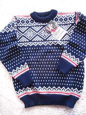 Nwt Dale Of Norway HandmadeWool Sweater 1982 F.I.S. Ski Team Design sz44 Reduced