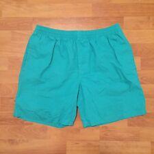 Stussy Solid Basic Bold Board Shorts Beach Swim Surf Teal Green Mens XL