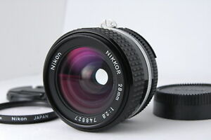[Appearance N MINT] Nikon Ai-s Nikkor 28mm F/2.8 Wide Angle Lens from JAPAN D82