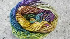 Noro Silk Garden #457 Montana Lavender Blue Green & Yellow Mix 50g
