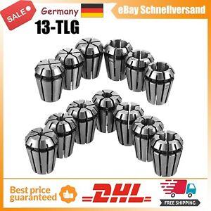 13pcs ER11 1-7mm Spannzange Spannzangenfutter Satz Für CNC Fräsen Drehmeißel DHL