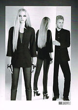 PUBLICITE ADVERTISING 094  2008  KARL LAGERFELD   haute couture