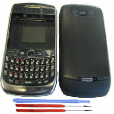 Blackberry 8900 Curve Housing Fascia Battery Cover Keypad Bezel Black + Tools UK