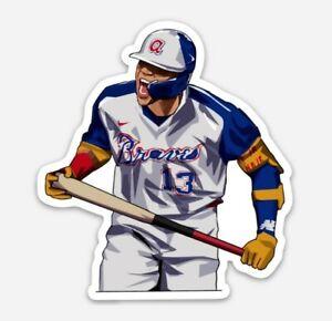 Ronald AcunaJr. STICKER - Atlanta Braves MLB