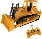 RC Bulldozer 2.4G Remote Control Loader Tractor Crawler Construction Vehicles