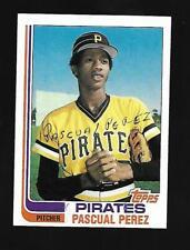 1982 Topps #383 Pascual Perez Pittsburg Pirates  EX-NM