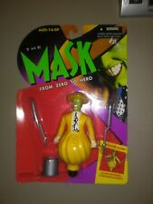The Mask Action Figure Tornado Mask From Zero to Hero 1995 New On Card