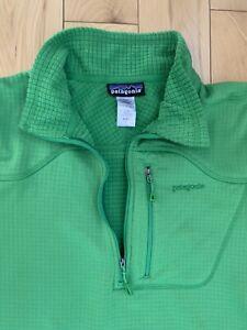Patagonia R1 Regulator Grid Fleece Pullover - Green! - Size Large