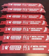 25 pk  Diablo DS0614BF 6-Inch 14/18-TPI Steel Demon Bi-Metal Reciprocating Blade