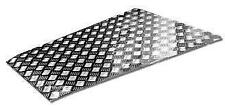 LAND ROVER DEFENDER UPTO 2006 - CHEQUER PLATE BONNET PROTECTOR SILVER - RE567