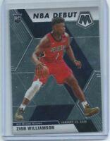 2019-20 Panini Mosaic NBA Debut Zion Williamson Rookie Card #269