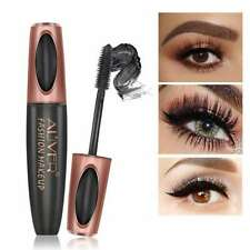 Black 3D Silk Fiber False Lash Mascara Waterproof Eyelash Extension Volume