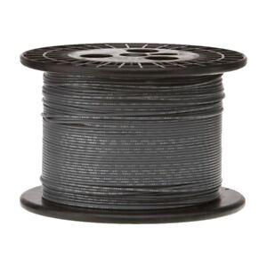 18 AWG Gauge GXL Automotive Stranded Hook Up Wire, 500 ft, Gray, 60 Volts