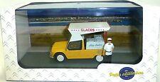 Citroën Mehari marchand de glace WAGON de glace Atlas 1:43 2428002 HC2 micro
