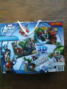 Brand New Marvel 3D Puzzle 3 packs