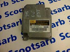 SAAB 9-5 95 SRS ECU Electronic Control Unit 2006 - 2010 12772222