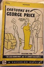 Cartoons by George Price ~1945 Rare WWII World War Two Paperback ~Selections