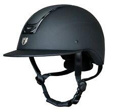 Royal Helmet 9501W - Wide Brim - Matte Black / Gloss Black Trim (Various Sizes)