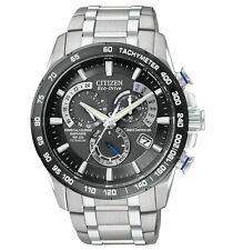 Citizen Eco-Drive Titanium Perpetual Kalender Chrono Herrenuhr AT4010-50E