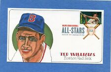 Sc #4694 Ted Williams All Star Gassen Cachets First Day Cover