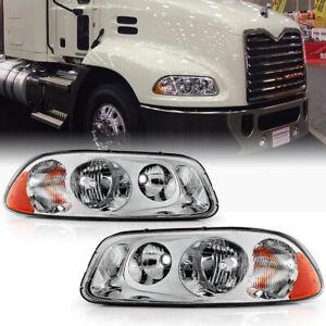 For Mack Vision Pinnacle CX CXU CXN GU4 GU5 GU7 GU8 Headlight Left+Right Signal