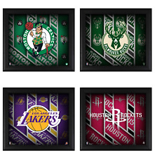"NBA Framed 15"" x 17"" Team Threads Collage - Fanatics"