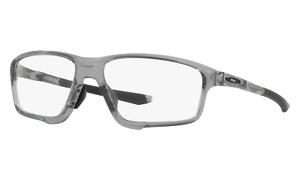 NEW AUTHENTIC Oakley Crosslink Zero OX8080-0458 Polished Grey Shadow 58-16-138