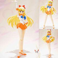 Sailor Moon Venus Pretty Guardian Action Figures Minako Aino Figma Figurine Toys