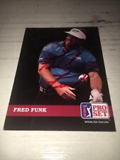 Fred Funk Signed 1992 Golf   Card