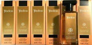 Avon Timeless Cologne Perfume Spray 1.7oz  (Pack of 6)