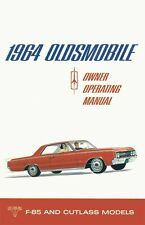 1964 Oldsmobile Cutlass F-85 Owners Manual User Guide Reference Operator Book OE