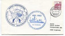 1982 Deutsche Antarktisstationen Georg V. Neumayer Station Polar Antarctic Cover