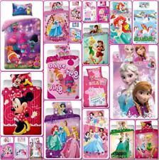Disney Marvel Lego Girls Character Kids Bedding Single Double Duvet Cover Set
