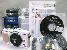 Olympus PEN E-P3 White 12.3 MP Digital Camera Boxed and Extras [Mint] from Japan