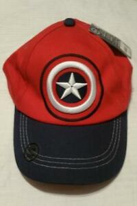 DISNEY STORE Captain America Baseball Cap BRAND NEW WITH TAGS Boys 5-8 yrs
