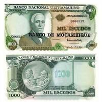 Pick 119 Mosambik / Mozambique 1000 Escudos 1976 Unc. / 456388vvv