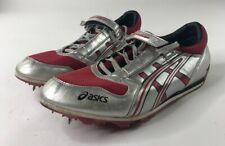 ASICS Cyber Jump Beijing GN805  Mens Size 12.5 long/triple jump shoes W/ spikes