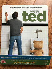 MARK WAHLBERG Ted ~ Original 2012 Bear Comedia Raro UK Blu-Ray Caja metálica