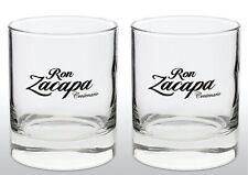 Ron Zacapa Rum Tumbler Glass X 2