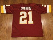 Vintage Washington Redskins Deion Sanders HOF #21 Nike Team NFL Jersey XL