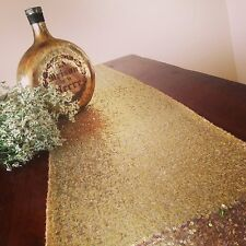 Lowest Prices 12''*72'' Gold Sequin Table Runner For Sale ! Buy It Now !!