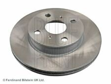 BLUE PRINT BRAKE DISCS FRONT PAIR FOR A TOYOTA COROLLA COMPACT HATCHBACK