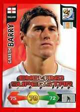 SOUTH AFRICA 2010 - Adrenalyn Panini - Card ENGLAND SUPERSTAR - BARRY