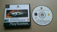 PORSCHE CHALLENGE - Sony Playstation PS1 Game + Custom Cover PS2 PS3