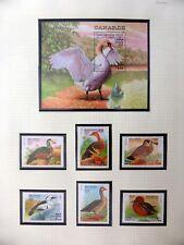 SOMALI REPUBLIC 1998 Ducks Beautiful Birds Set & M/Sheet U/M NM586