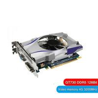 GT730 GDDR5 4GB Grafikkarte PCI EXPRESS VGA 128bit