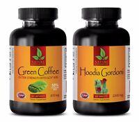 Fat burner lean muscle - GREEN COFFEE EXTRACT – HOODIA GORDONII COMBO - hoodia