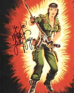 Mary McDonald-Lewis Lady Jaye autograph signed photo by GIJOE voice actor COA