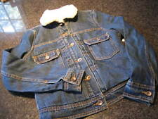 NWT - Ladies OLD NAVY Fleece Lined Denim Jacket (XS)